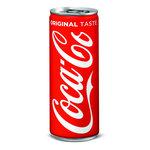 Coca Cola regular blikje