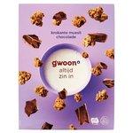 Gwoon Krokante Muesli Chocolade