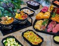 KERST Gourmet menu met bakplaat (10 dec - 6 jan), prijs is per persoon.