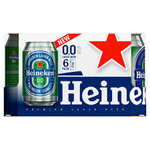 Heineken 0.0% blik 6x33cl